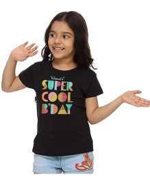 Bonorganik Super Cool Birthday Tee - Black