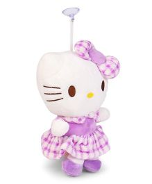 Dimpy Stuff Hello Kitty Hanging Soft Toy Purple - 23 cm