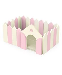 Alzip Fence And Play Mat - Pink Cream
