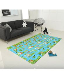 Alzip City Road Play Mat - Sea Green