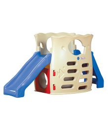 BabyCenter India Slider & Climber - Blue Cream