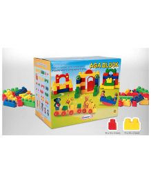 Babycenter India AGA Blocks Multicolor - 84 Pieces