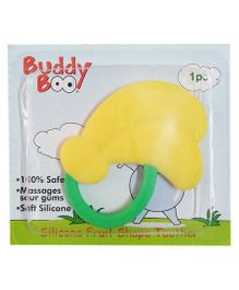 Buddyboo Silicone Fruit Shape Teether - Yellow