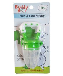 Buddyboo Fruit & Food Nibbler - Green