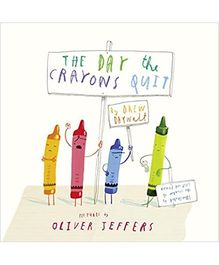 Day The Crayons Quit By Daywalt, Drew - English