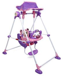 Mi First Baby Swing - Pink Purple