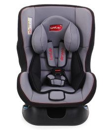 Luv Lap Sports Baby Car Seat - Grey Black
