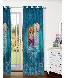 Athom Trendz Disney Frozen Door Curtain FRZ-410-DC1-E - Blue