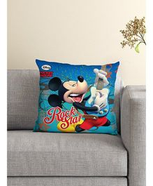 Athom Trendz Disney Mickey Mouse Cushion With Cover DIS-10-3-D23-FL-M - Blue