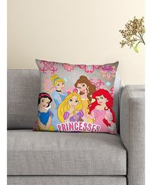 Athom Trendz Disney Princess Cushion With Cover DIS-10-3-D36-FL-M - Pink