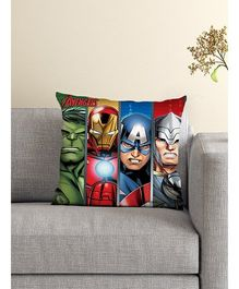 Athom Trendz Marvel Avengers Cushion With Cover - Multicolor