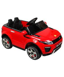 Baybee Range Rover Battery Operated Ride-On Car - Red
