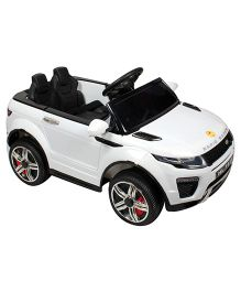 Baybee Range Rover Battery Operated Car - White
