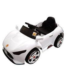 Baybee Mercedes Benz A Class Battery Operated Car With Remote Control - White