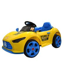 Baybee Mercedes Benz A Class Battery Operated Car With Remote Control - Yellow