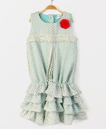 Soul Fairy Rara Dress With Pintuck - Mint Green