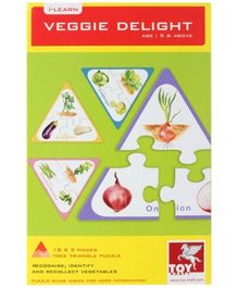 Toy Kraft - Veggie Delight Jigsaw Puzzle