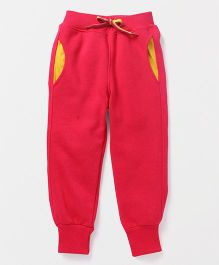 Little Kangaroos Full Length Track Pant - Fuchsia Pink