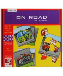 Toy Kraft - On Road Jigsaw Puzzle