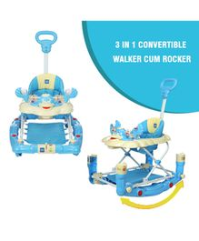 Mee Mee Baby Walker Cum Rocker - Blue