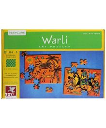 Toy Kraft - Warli Art Jigsaw Puzzle