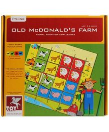 Toy Kraft - Old Mc Donalds'S Farm Puzzle