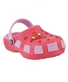 Imagica Clogs Jumbo Head Design - Pink