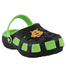 Imagica Clogs Doggy Design - Green Black