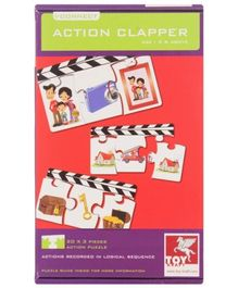 Toy Kraft - Action Clapper Puzzle