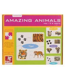 Toy Kraft - Animal's World Puzzle