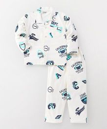 Doreme Full Sleeves Night Suit CREAM 3-4 yrs