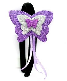 Carolz Jewelry Butterfly Design Hairband - Purple