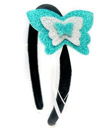 Carolz Jewelry Butterfly Design Hairband - Blue