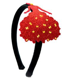 Carolz Jewelry Princess Hairband - Red