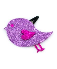 Carolz Jewelry Glitter Bird Single Tic Tac - Purple