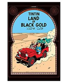 Tintin Land of Black Gold - English