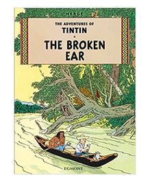 Tintin The Broken Ear Green - English