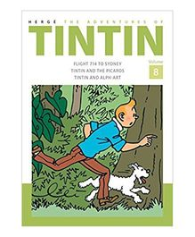 Adventures of Tintin Volume 8 - English