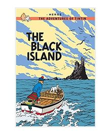 Tintin The Black Island Blue - English