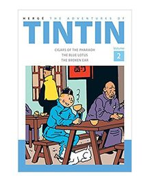 The Adventures of Tintin Volume 2 - English