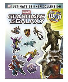 Guardians of The Galaxy Ultimate Sticker Collection - English