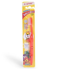 Kodomo Soft & Slim Toothbrush - Red