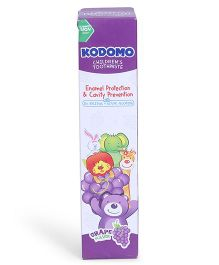 Kodomo Children's Toothpaste Grape Flavour - Purple