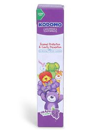Kodomo Children's Toothpaste Grape Flavour Purple - 40 gm
