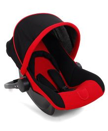 Infant Car Seat Cum Carry Cot - Red Black