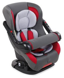 Convertible Baby Car Seat - Red & Grey