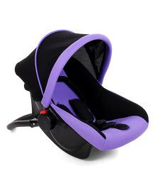 Rear Facing Carry Cot Cum Rocker - Purple And Black