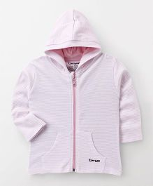 Tiny Bee Striped Jacket - Pink