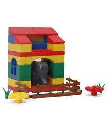 Peacock - Elephant Block Set