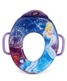 The First Years Disney Princess Soft Potty Seat With Handles - Purple